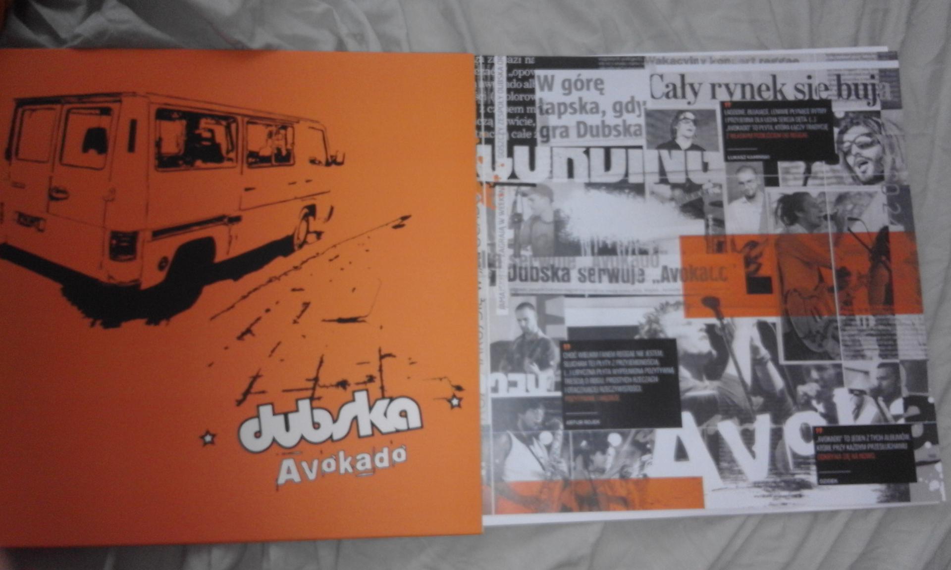 """DUBSKA """"AVOKADO"""" - klasyczna płyta na winylu"""