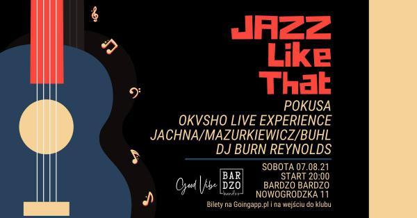 Jazz Like That - Jachna/Mazurkiewicz/Buhl & Others