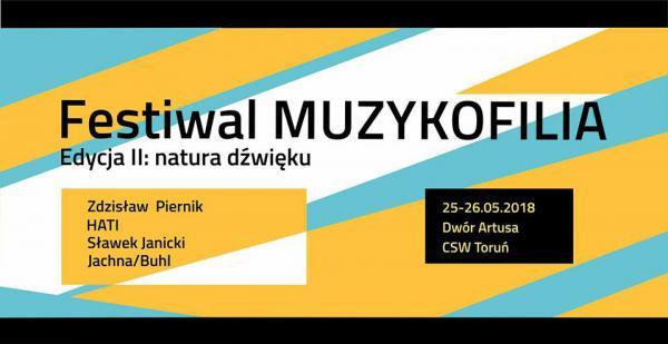 Festiwal MUZYKOFILIA, Toruń- Edycja II - Natura Dźwięku